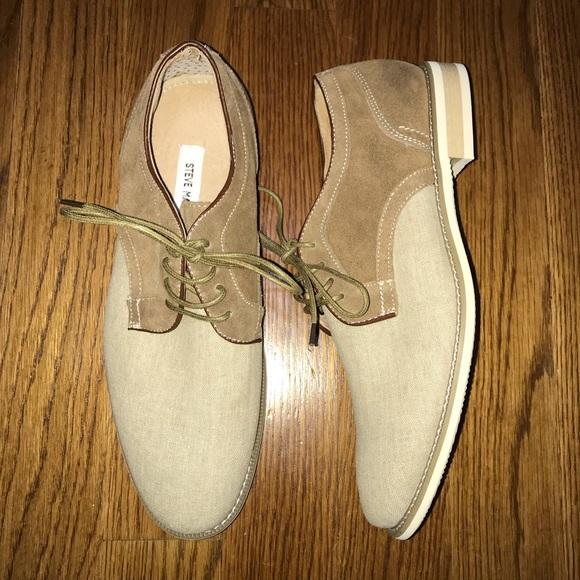 e336e594028 Steve Madden Sojourn Men s Tan Dress Shoes Size 10